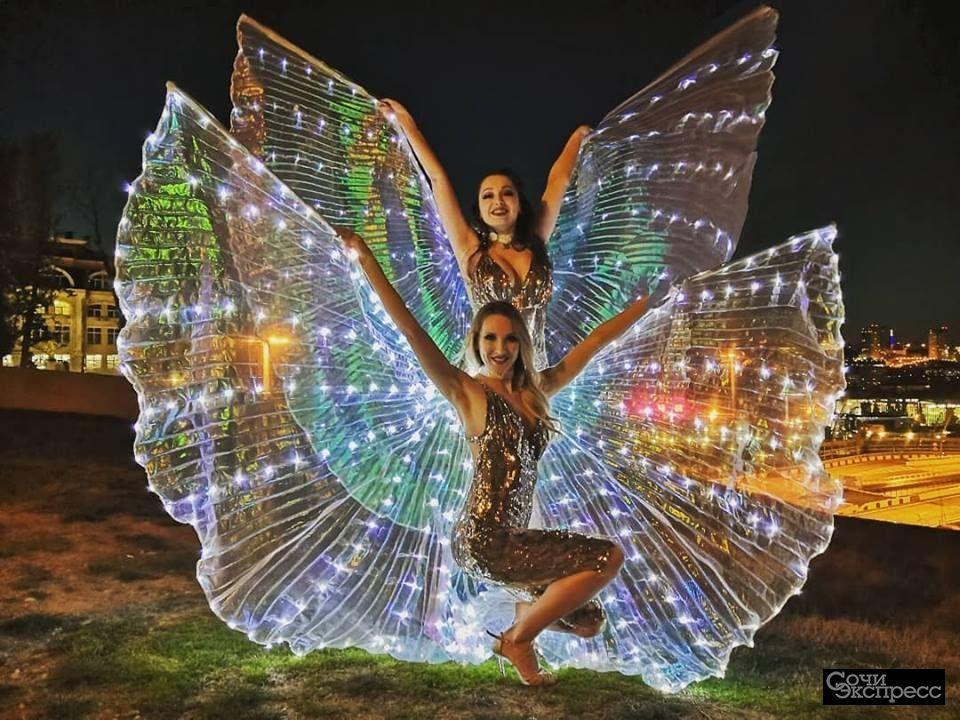 Световое и фаер шоу в Сочи