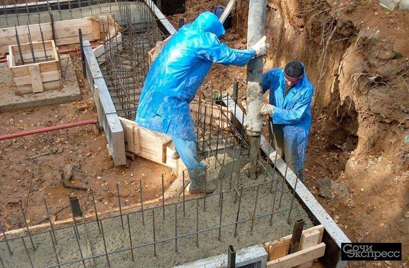 цена за работу монолитных бетонных работ