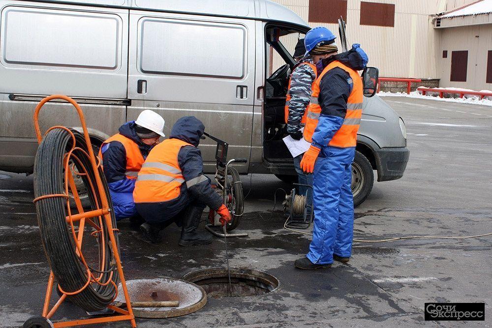 Видеоинспекция труб Сочи - Обследование канализации