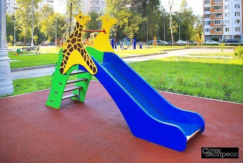 Оборудование для детских и спортивных уличных площадок