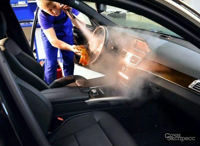 Химчистка салона автомобиля с применением новейших технологий и экологичных средств