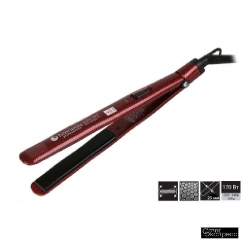 Щипцы-выпрямитель Hairway ceramic красные 170W б/у