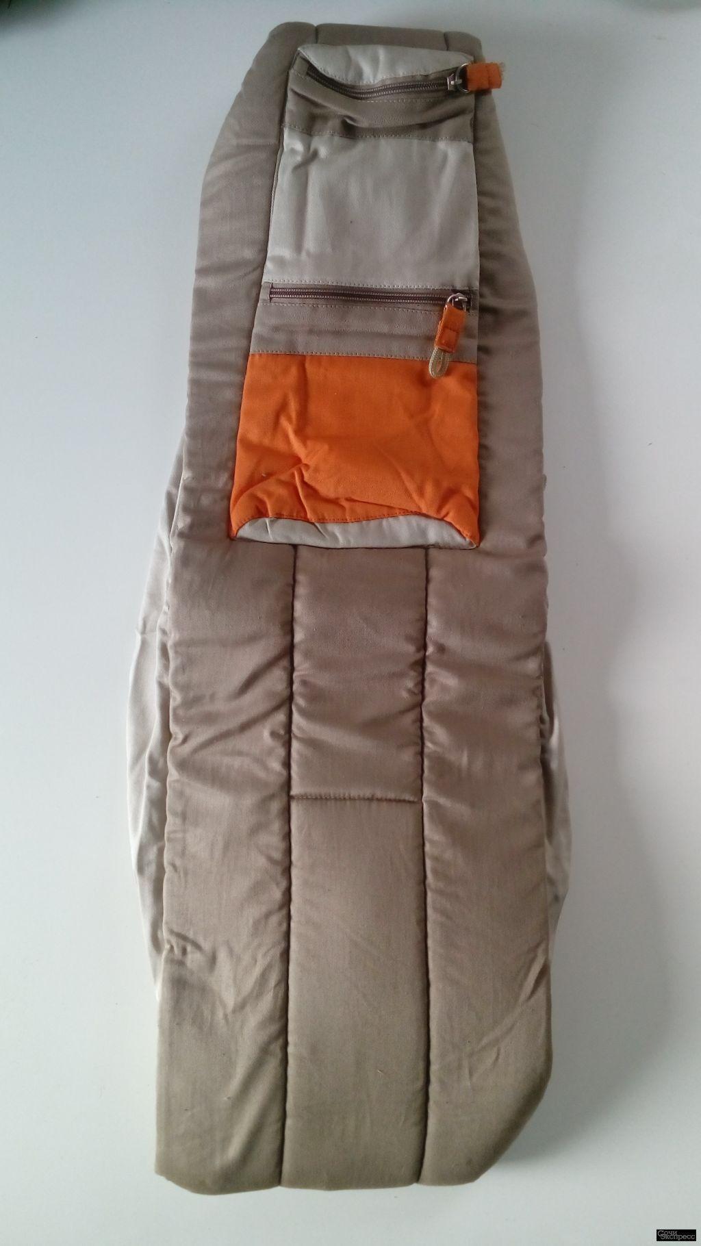 Слинг Premaxx Baby Bag два в одном Сахара (беж+оранж) новый