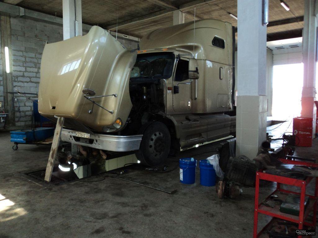 Ремонт грузовиков в Краснодаре на выезд. грузовое СТО Краснодар,ремонт грузовых автомобилей