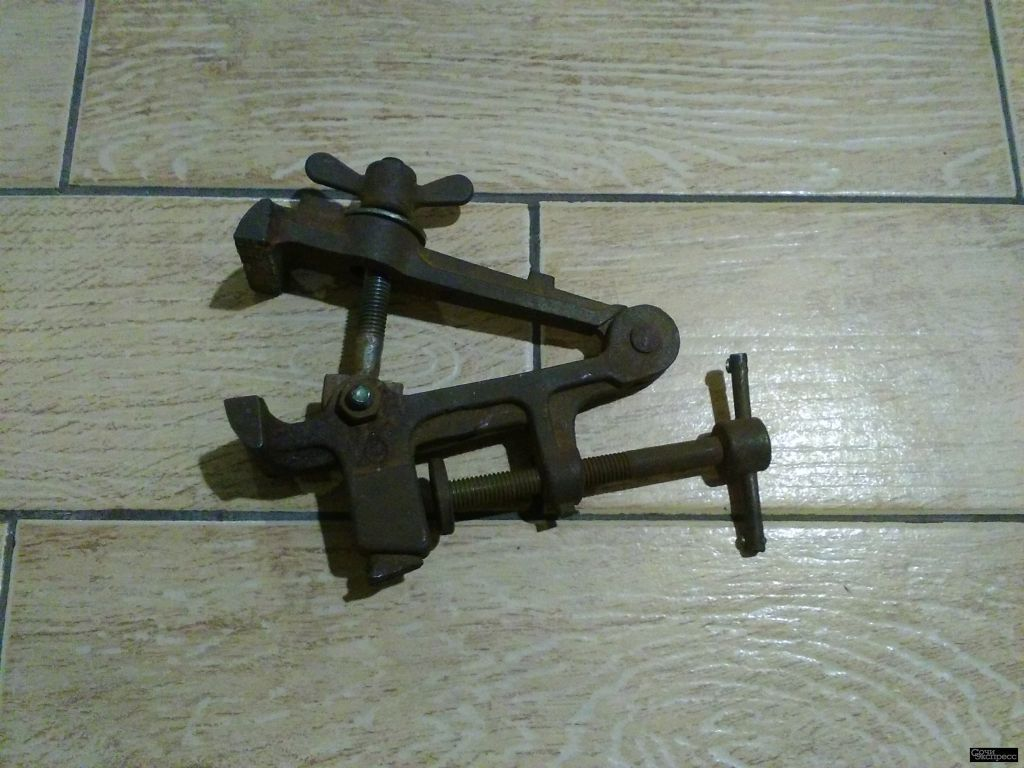Тиски + ножницы по металлу