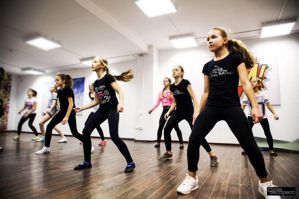 Танцы для детей от 3 до 17 лет