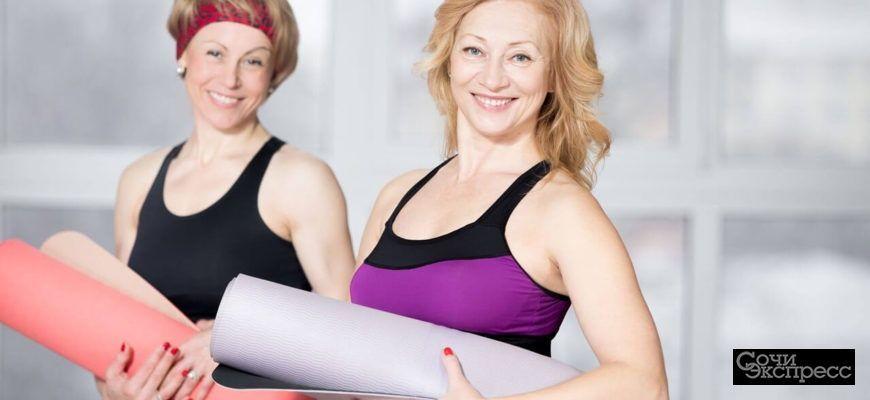 Фитнес для женщин от 45+.