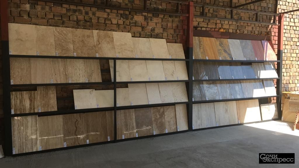 бежевый травертин плитка для фасада стен и пола в наличии