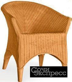 Кресло под ротанг