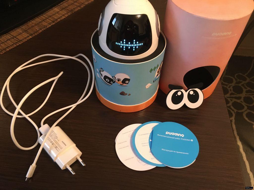 Интеллектуальный робот Емеля (Pudding), Roobo