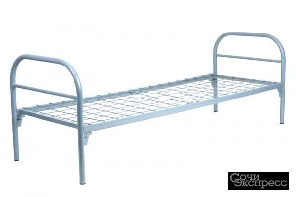 Кровати металлические одноярусные с доставкой, дешево