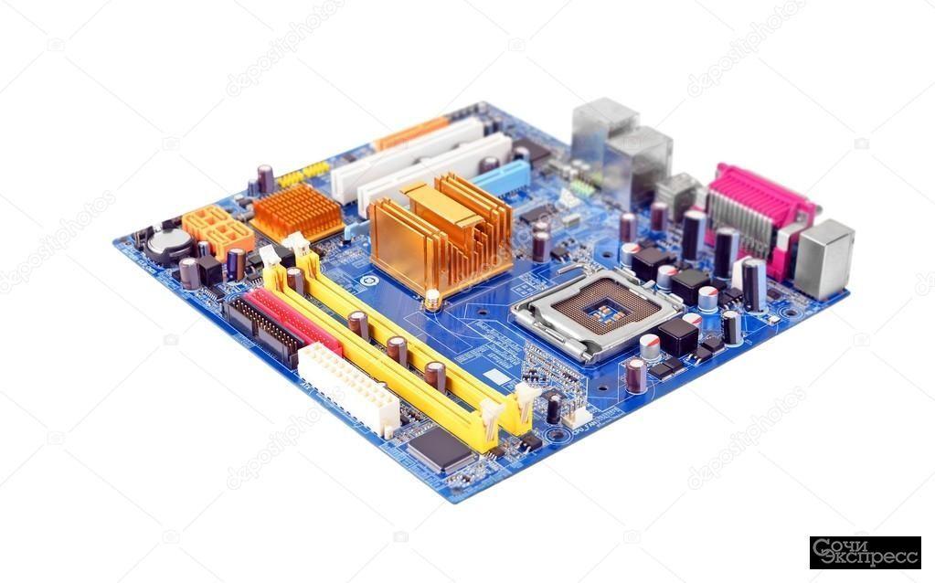 Ремонт компьютерных компонентов и комплектующих