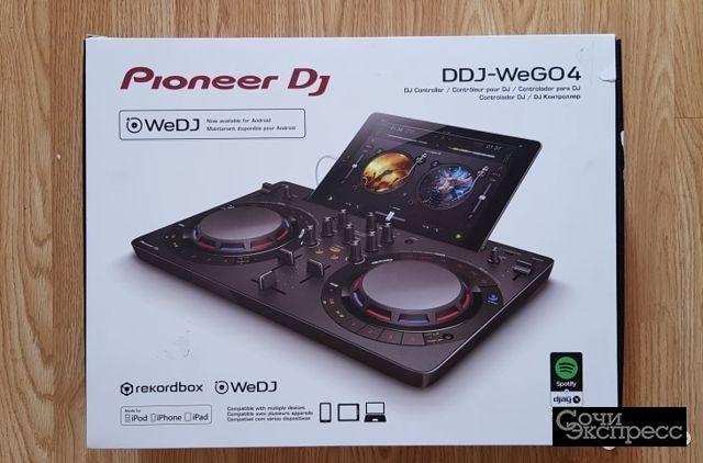 Pioneer DJ DDJ-wego4 Compact Controller