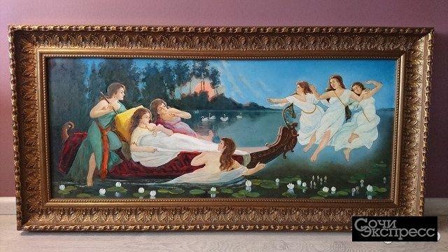 Картина Клода Лоррена «Отплытие царицы Савской»