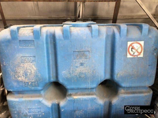 Ёмкость для диезного топлива 2000 литров