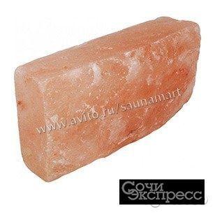 Плитка из гималайской соли 20*10*2,5см натуральная