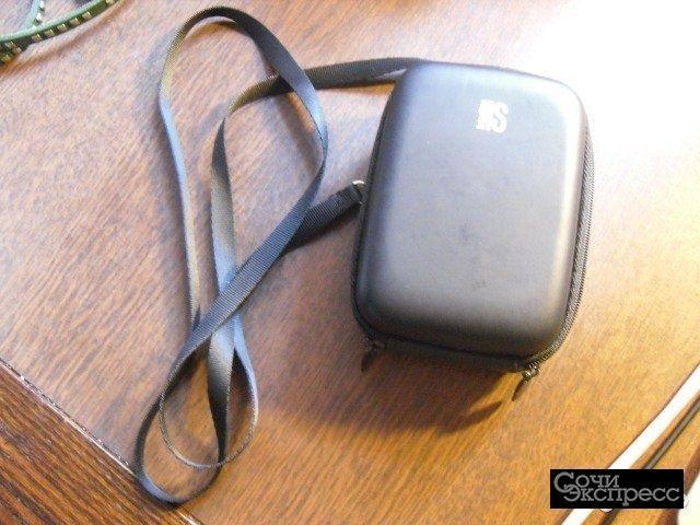 Чехол для фотоаппарата, карман для батареек/карт