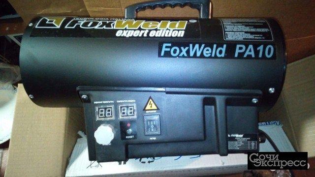 Новая Газовая тепловая пушка FoxWeld PA10