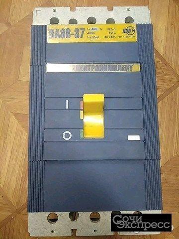 Автоматический выключатель ва88-37 400а иэк