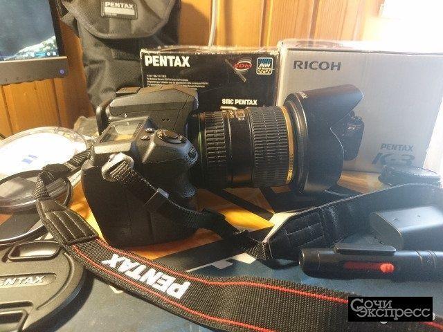 Pentax K-3 DA Star 16-50mm F2.8 ED AL (IF) SDM