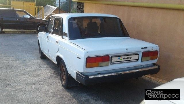 ВАЗ 2107 1.6МТ, 2003, седан