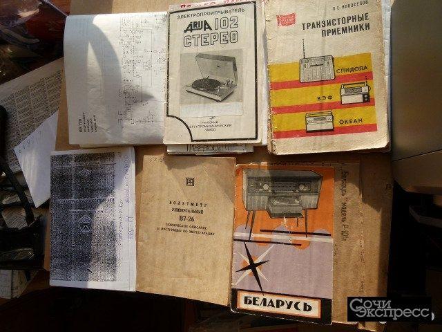 Инструкции на радиоаппаратуру
