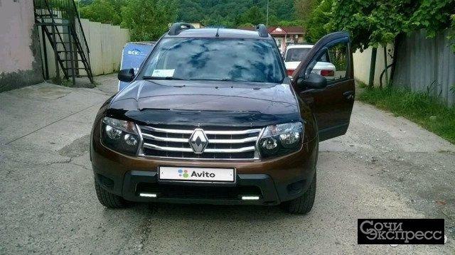 Renault Duster 1.5МТ, 2012, внедорожник