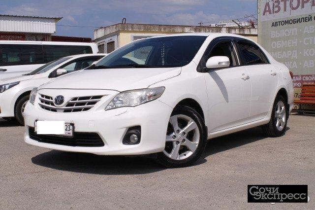 Toyota Corolla 1.6AT, 2013, седан