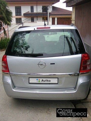 Opel Zafira 1.8AMT, 2008, минивэн