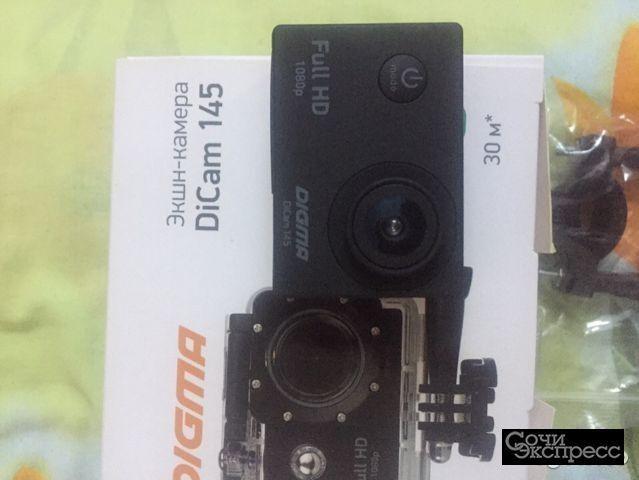 Экшн-Камера DiCam 145 Full HD 1080P
