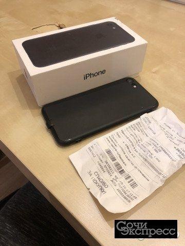 iPhone 7 32 gb с чеком