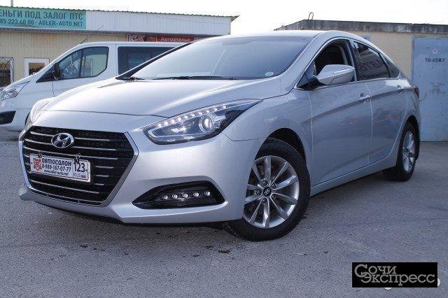Hyundai i40 1.7AMT, 2015, седан