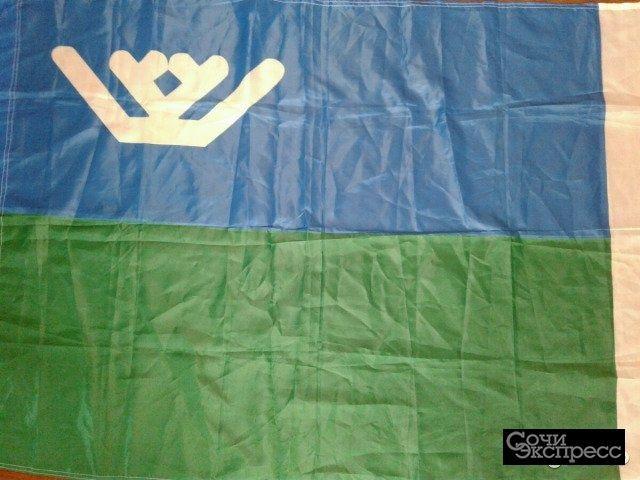 Флаг Югра
