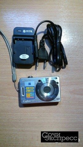 Цифровая фотокамера Sony DSC-W50