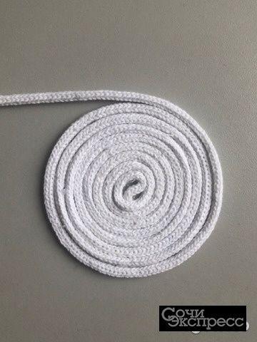 Шнур для вязания, хлопок 200м