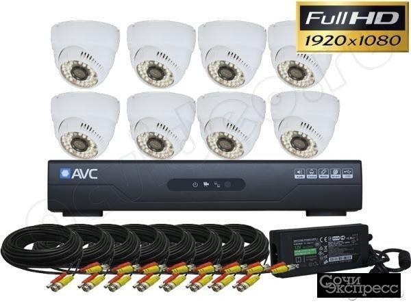 Системы видеонаблюдения, домофоны, спутниковое тв