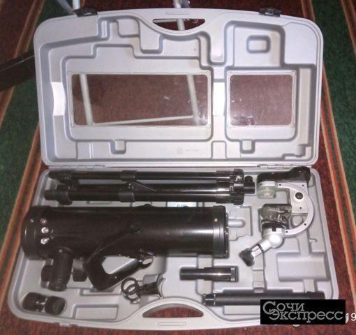 Телескоп + микроскоп