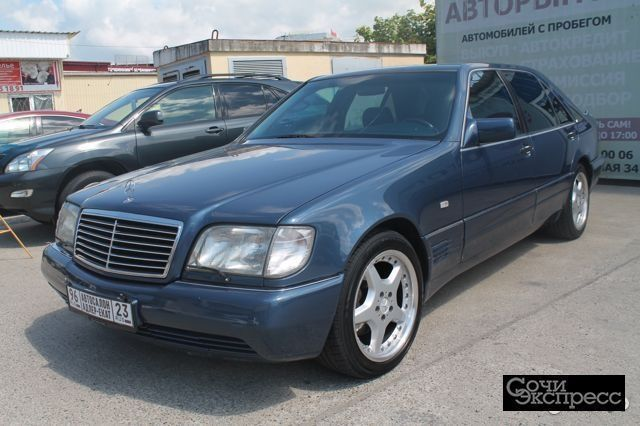 Mercedes-Benz S-класс 5.0 AT, 1994, седан