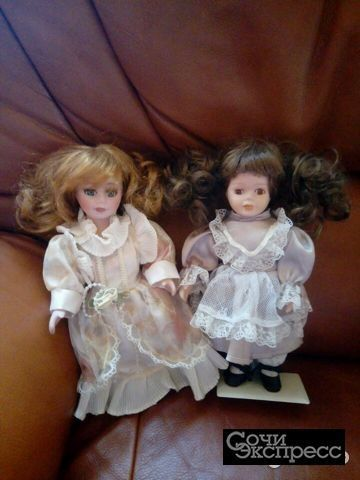 Куклы из коллекции, фарфор