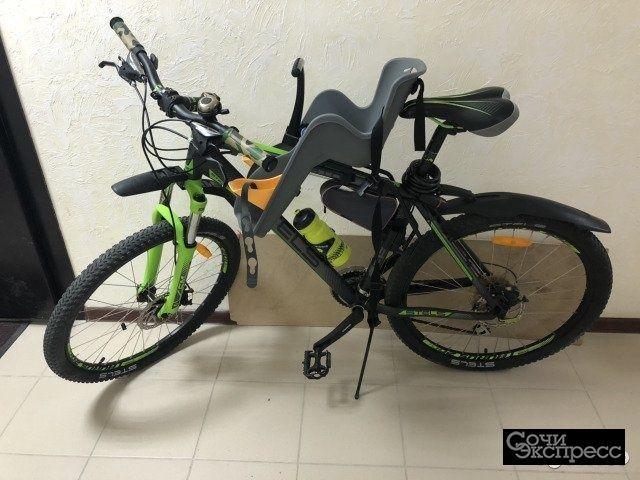 Велосипед горный stels 850