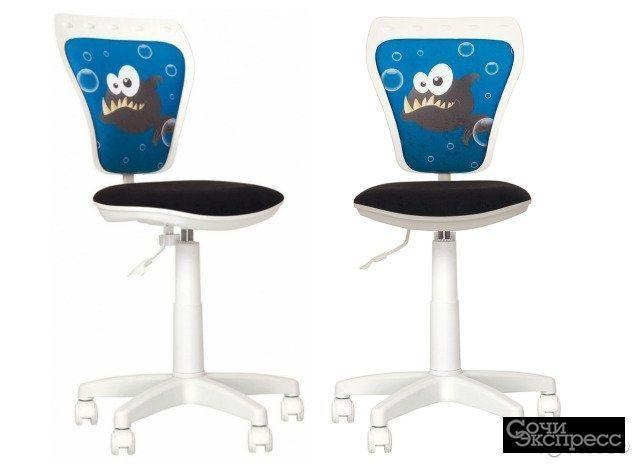 Кресло детское Министиль Ministyle White GTS Fish