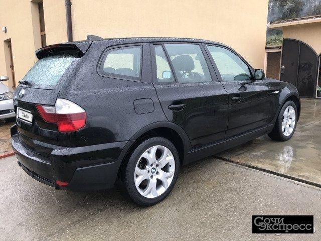 BMW X3 2.0AT, 2008, внедорожник
