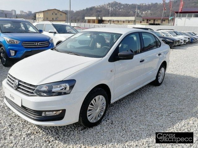 Volkswagen Polo 1.6AT, 2019, седан
