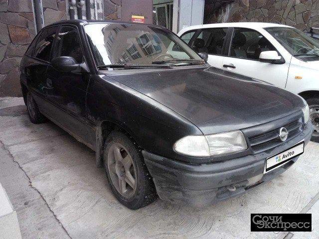 Opel Astra 1.6МТ, 1992, хетчбэк