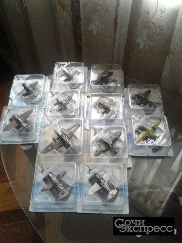 Модели боевых самолетов