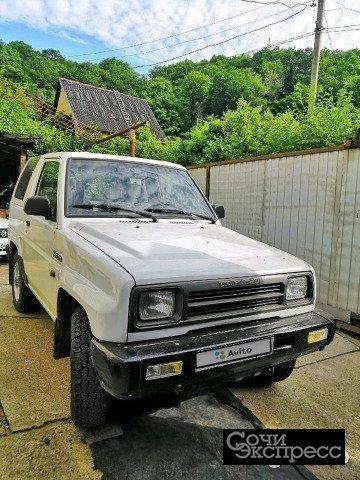 Daihatsu Feroza 1.6МТ, 1992, внедорожник