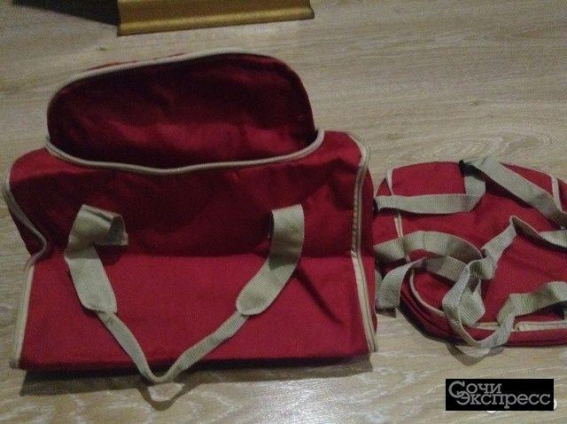 Сумка и маленький рюкзачек