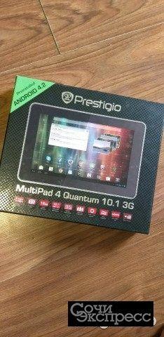 Планшет Prestigio Quantrum 10,1 3G