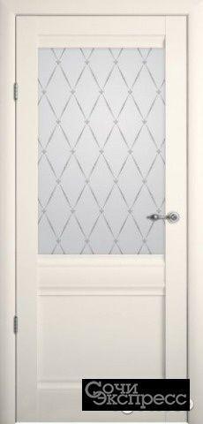Межкомнатная дверь рим по ваниль