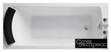 Ванна акриловая рица 150х70 на ножках